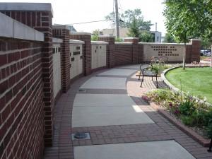 Memorial Garden Wall
